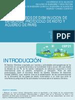 Presentaciones de Exposiciones Cambio Climatico