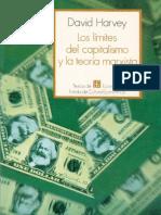 Los límites del capitalismo y de la teoría marxista. Completo (PDF) David Harvey