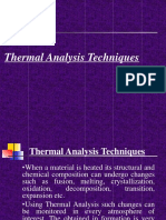 Thermal Analysis Techniques
