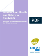 Guidance on Health and Safety in Fieldwork