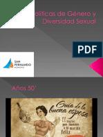 Políticas de Género y Diversidad Sexual Nuevo