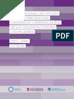 Consejo Nacional de Mujeres Plan Nacional de Accion Contra Violencia Genero 2017 2019