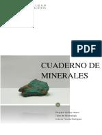 Cuadernillo de Minerales