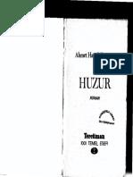 Ahmet Hamdi Tanpınar - Huzur.pdf