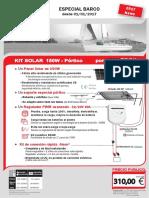 Kit 150W Portique Doc Utilisateur 01-01-2017 ES