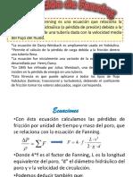 ecuacion de fanning