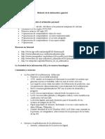 Historia de La Informatica General
