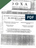 Fukuyama Fin Historia