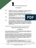 Código de Ética Institucional de la UTPL
