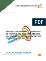 Especificaciones Tecnicas Pampa Blanca Cerro Lunar 16 Junio 2017