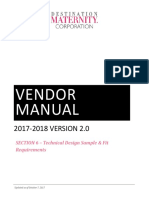Vm Section 6 Technical Design Sample & Fit Requirements