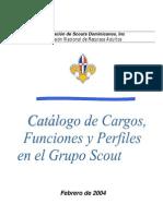 Catalogo de Cargos y Perfiles en El Grupo Scout