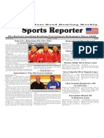 January 2 - 9, 2018  Sports Reporter