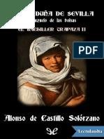La Garduna de Sevilla y Anzuelo de Las Bolsas - Alonso de Castillo Solorzano
