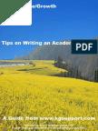 TipsonWritinganAcademicPaper.pdf