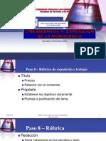 SEM 14 LINEAMIENTOS Y  EXPOSICIÓN  DE LA MONOGRAFÍA.pptx