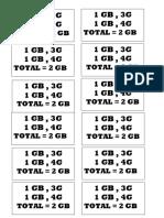1GB=1GB4G
