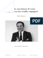 Radu Manolescu - How do you know if your employees are really engaged