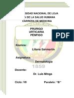 Prurigo, Urticaria, Pénfigo