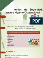 Generalidades de Seguridad y Salud Ocupacional