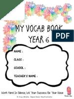 My Vocab Book y6