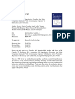 Association of Reproductive Disorders and Male
