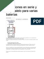 baterias conexion