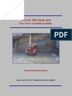 Poverty Pro Poor Growth in India