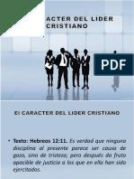 1 El Carácter Del Líder Cristiano