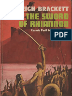 Leigh Brackett - The Sword of Rhiannon