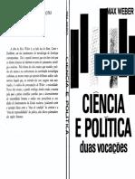 WEBER Max Ciencia e Politica Duas Vocacoes