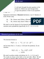 Binomial g Of