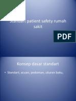 Standart Patient Safety Rumah Sakit Sr Hilde