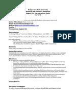 BSU280 Policies Fall 2010