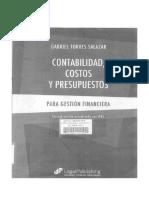 Contabilidad Costos y Presupuestos - Torres Salazar