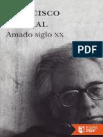 Amado Siglo XX - Francisco Umbral