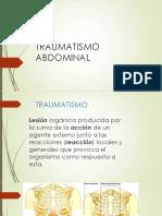 18.- Traumatismo Abdominal