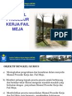 Manual Prosedur Kerja MPK Fail Meja FM