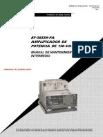 10515-0122-4301 RF-5833H-PA Amplificador 150W Mantenimiento
