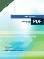 User Manual Admin