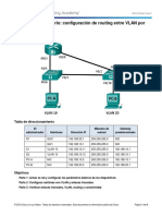 6.3.2.4 Lab - Configuring Per-Interface Inter-VLAN Routing