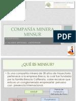 COMPAÑÍA MINERA MINSUR Jheferson Jhoel Hilario Arteaga