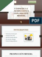 Fases de la Prospeccion y Exploración Minera  UNT