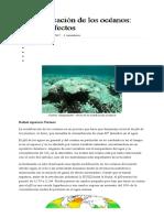 La Acidificación de Los Océanos_ Causas y Efectos – Triplenlace