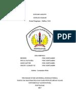 Praktikum Geologi Dasar di Tanjung Gundul, Pantai Kura-Kura Kabupaten Bengkayang