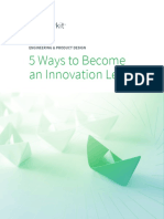 5 Ways to Become an Innovation Leader Whitepaper