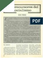 Valero - Precursores Del Socialismo Utópico