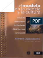 El Modelo en La Ciencia y La Cultura