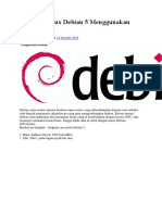 Instalasi Linux Debian 5 Menggunakan VirtualBox