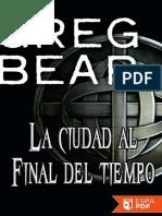 La Ciudad Al Final Del Tiempo - Greg Bear